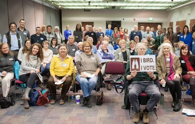 "Join us for our 2nd Annual ""I Bird, I Vote"" Bird Conservation Summit on March 4th!"